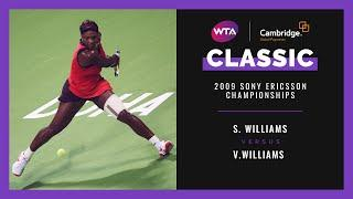 Serena Williams v. Venus Williams | Full Match | 2009 Doha Final