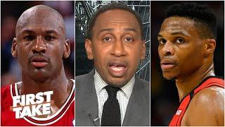 Stephen A.: Nobody exhibits MJ's competitiveness like Russell Westbrook in today's NBA | First Take