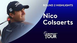 Nico Colsaerts Highlights | Round 2 | 2020 Oman Open