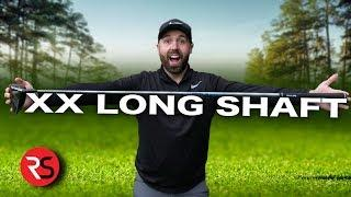 """THE 50"""" XX LONG GOLF DRIVER - EXTRA 34 YARDS OF DISTANCE"""