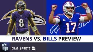 Bills vs. Ravens NFL Playoffs Preview, Prediction, Analysis, Date & Time | AFC Divisional Round