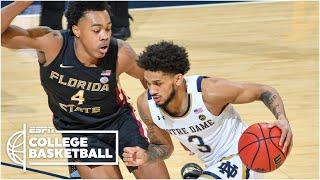 Prentice Hubb leads Notre Dame to upset win vs. No. 11 Florida State [HIGHLIGHTS] | ESPN