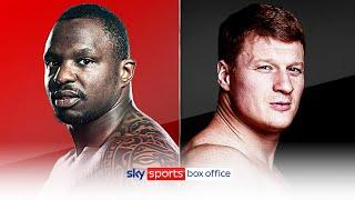 BREAKING! Dillian Whyte to face Alexander Povetkin in rematch on March 6th