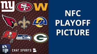 NFL Playoff Picture: NFC Clinching Scenarios, Wild Card & Standings Entering Week 13 Of 2020 Season
