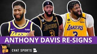 NBA Free Agency News: Anthony Davis Signs A 5-Year Max Contract With The Los Angeles Lakers