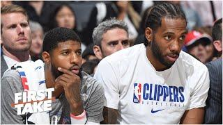Should Kawhi regret teaming up with Paul George on the Clippers? Stephen A. & Max debate |First Take