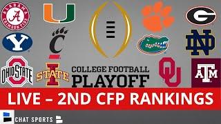 CFP Rankings LIVE – Top 25 Teams In 2nd College Football Playoff Rankings For 2021
