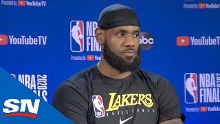 LeBron James Not Taking Any Leads For Granted After Lakers Beat Heat In Game 1