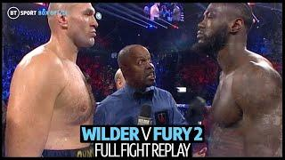 Full fight replay: Deontay Wilder v Tyson Fury 2