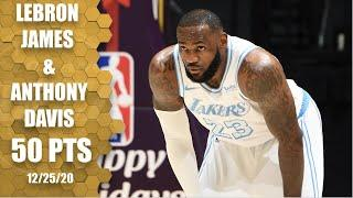 LeBron James and Anthony Davis leads Lakers vs. Mavericks [HIGHLIGHTS] | NBA on ESPN