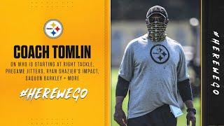 Steelers Press Conference (Sept. 9): Coach Mike Tomlin | Week 1 at New York Giants