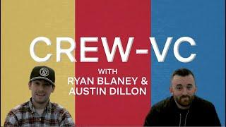 """Ryan Blaney and Austin Dillon hilariously sell products on """"Crew-VC""""   Netflix's The Crew"""