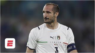 Italy 'HAVE A SWAGGER!' Chiellini leads by example in Italy's defence | Euro 2020 | ESPN FC