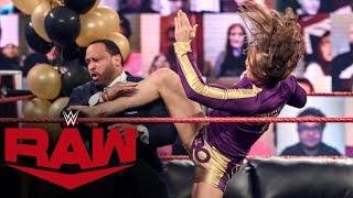 R-Truth and Riddle crash The Hurt Business' VIP Lounge: Raw, Jan. 25, 2021