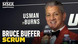 Bruce Buffer Reflects On 25th Anniversary WIth UFC   UFC 258   - MMA Fighting