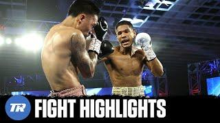 Elvis Rodriguez does it Again! 10 Fights, 10 KOs finishes Krael in 3rd | FIGHT HIGHLIGHTS