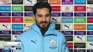 """""""We're missing some great players"""" Ilkay Gundogan is happy with Man City's strength-in-depth"""