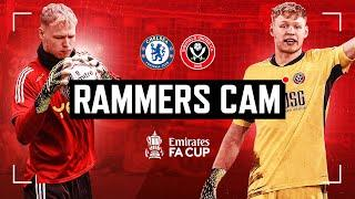 Rammers Cam | Mic'd Up Pitchside | Goalkeeper Compilation vs Chelsea  | Pulisic Save!