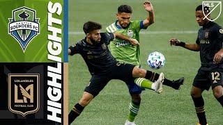 Seattle Sounders FC vs. LAFC | August 30, 2020 | MLS Highlights