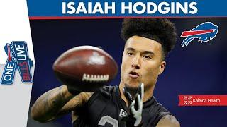 Isaiah Hodgins' Draft Day Experience & NFL Lessons He Learned from His Father | One Bills Live