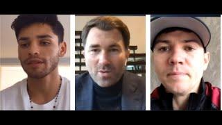 RYAN GARCIA v LUKE CAMPBELL *FULL & UNCUT OFFICIAL PRESS CONFERENCE* - WITH HEARN / GARCIA-CAMPBELL