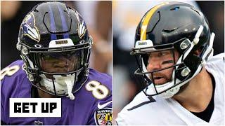Get Up previews the Ravens vs. Steelers division rivalry in Week 8