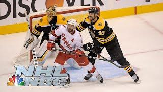 NHL Stanley Cup First Round: Hurricanes vs. Bruins | Game 2 EXTENDED HIGHLIGHTS | NBC Sports