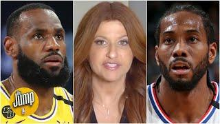 Rachel Nichols recaps the NBA's dramatic return to action, featuring Lakers vs. Clippers | The Jump