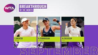 Breakthrough Player of the Month Nominees | September 2020