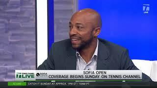 Tennis Channel Live: Sofia Open Projected QFs