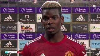 """It was a beautiful goal and a beautiful victory!"" Paul Pogba on bagging United's winner vs Fulham!"