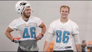 Mike Gesicki has some HOT takes... The Mike and Smythe Show | Miami Dolphins