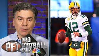 Would you rather be in Aaron Rodgers or Tom Brady's shoes? | Pro Football Talk | NBC Sports