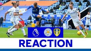 'We Must Recover Quickly' - Harvey Barnes   Leicester City 1 Leeds United 3