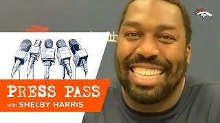 'We have to be the better defense on Sunday': Shelby Harris previews #PITvsDEN