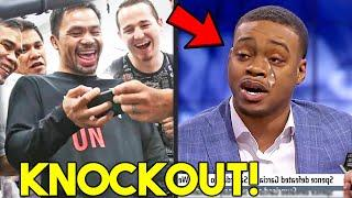 """*WOW* MANNY PACQUIAO REACTS TO ERROL SPENCE TRАSH TALK of К. О BEFORE FIGHT: """"I WILL RETIRE HIM"""""""