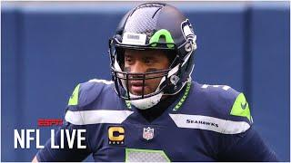 NFL Live reacts to Russell Wilson saying he didn't request a trade | NFL Live