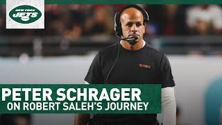Detailing The Rise Of Robert Saleh To Head Coach Of Jets   Peter Schrager 1-On-1