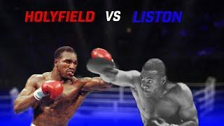 BATTLE OF THE AGES - EVANDER HOLYFIELD vs SONNY LISTON - THE GREATEST