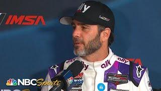 Jimmie Johnson smiles through the nerves at Rolex 24 | Motorsports on NBC