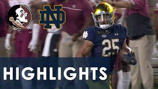Florida State vs. Notre Dame | EXTENDED HIGHLIGHTS | 10/10/20 | NBC Sports