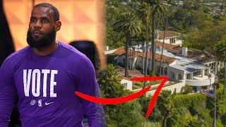 LeBron James Buys $36 Million Home In LA Just MINUTES Before Game 1! | NBA FINALS 2020