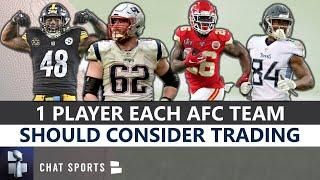 NFL Trade Rumors: 1 Player Each AFC Team Should Consider Trading Before The 2020 Season