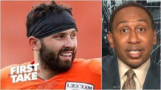 Stephen A. explains why Baker Mayfield is facing a pivotal game vs. Joe Burrow in Week 2  First Take