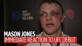 """""""It was a stupid fight. I will be best in this division!"""" Mason Jones reflects on UFC debut loss"""
