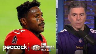 Buccaneers likely won't release Antonio Brown despite new incident | Pro Football Talk | NBC Sports