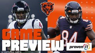 Chicago Bears vs Houston Texans Game Preview (Week 14)