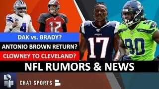NFL Rumors: Jadeveon Clowney & The Browns? Antonio Brown To Redskins? Tom Brady vs. Dak Prescott?