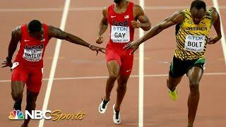 Bolt and Gatlin battle to heartstopping 100m photo finish at 2015 Worlds | NBC Sports