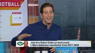 GMFB: Detailing How Robert Saleh Became Head Coach Of The Jets | New York Jets | NFL
